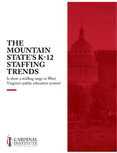 The Mountain State's K-12 Staffing Trends: Is there a staffing surge in West Virginia's public education system?