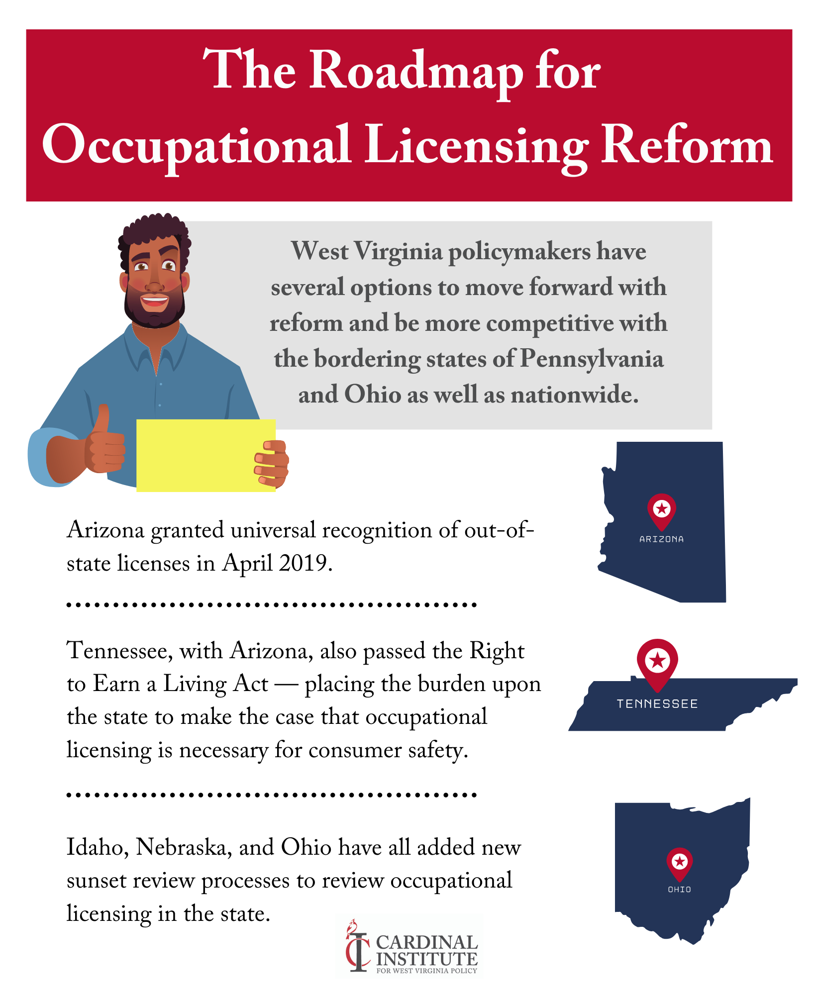 Ways to reform occupational licensing